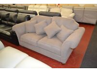 Beautiful, fabric sofa with cushions