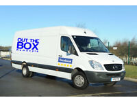 BOX MAN AND VAN (House Flat Office Removals)(Short notice)