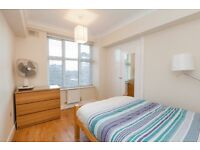 Charming top floor two double bed flat in excellent condition in Edware Road