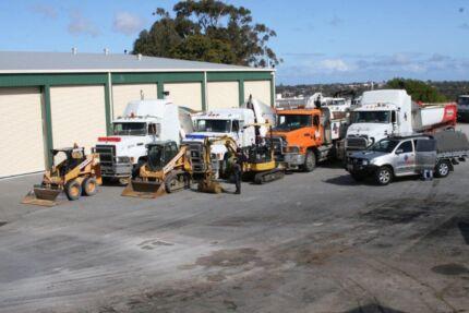 Battleaxe preps, Bobcats, diggers & trucks Wangara Wanneroo Area Preview