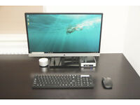 Intel NUC6i5YSK Full Set Mint condition Powerful Mini Desktop PC + HP 23 inch Full HD Monitor