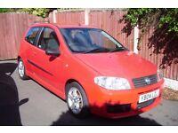 Fiat Punto 1.9 HGT, 11 months MOT,2 door, Low mileage, Rare Model, Good fuel economy.
