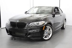 2016 BMW 2 Series * M PACKAGE / VOLANT CHAUFFANT  / GPS *