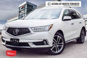 2017 Acura MDX Navi 7yrs/130,000KM Acura Warranty Included