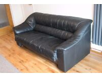 3-seater Italian leather sofa. Excellent condition.