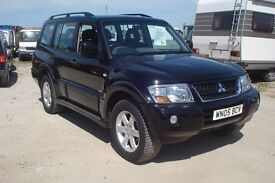 Mitsubishi shogun Warrior auto 2005-05-reg, 3.2 turbo diesel, 126,000 miles, july mot