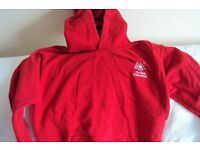 MAIDENHILL SCHOOL STONEHOUSE RED PHYSICAL EDUCATION SWEATSHIRT