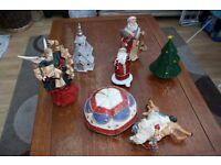 Job lot Christmas quality decorations/ornaments