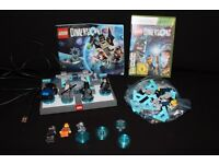 Lego Dimensions XBOX 360 Bundle Joblot of Figures Starter Pack Extra Figures Manual CD Kids Game