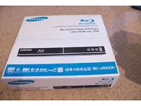 Samsung BD-J4500R Blu-ray Player, brand new, boxed