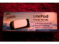 'Litepod' daylight box, may be helpful with seasonal affective disorder, excellent condition, in box