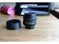 Nikon 50mm f/1.4g lense Mint condition