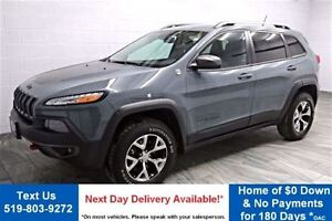 2014 Jeep Cherokee TRAILHAWK 4WD! NAVIGATION! LEATHER! HEATED SE