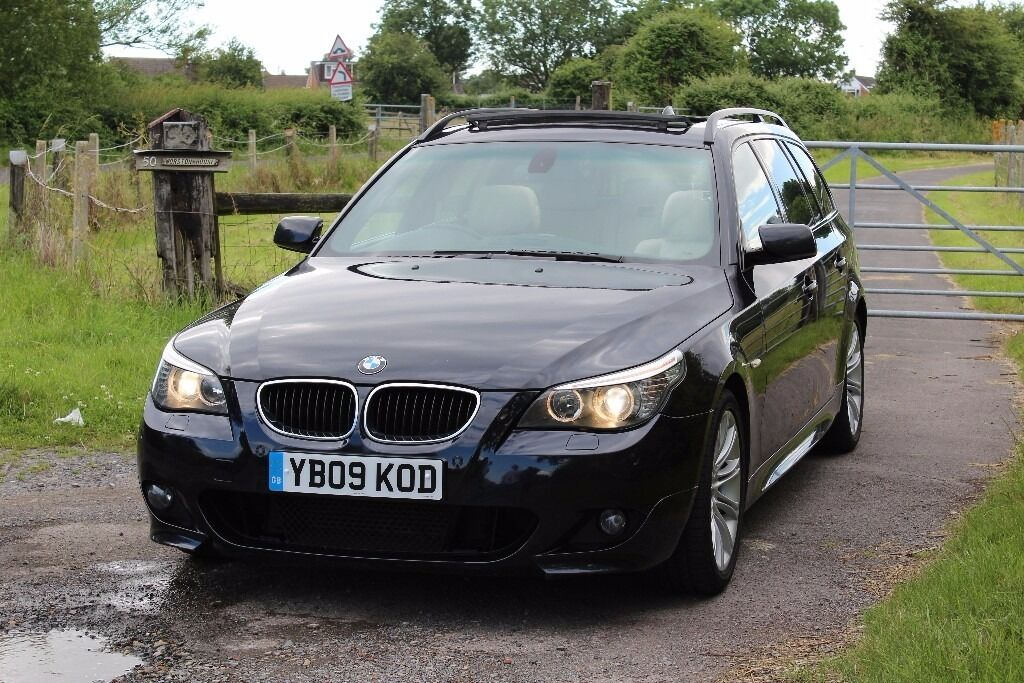 2009 bmw 520d m sport touring panoramic sunroof. Black Bedroom Furniture Sets. Home Design Ideas