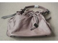 ( New and Unused ) Genuine Burberry Drawstring Bucket Bag with adjustable strap £200