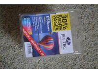 JETTEC INKJET CARTRIDGE E55B/C/M/Y FOR EPSON PRINTERS