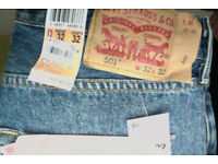 Levi jeans. Brand new with all tags and labels. 32 x 32