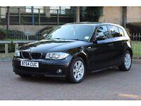 BMW 1 Series 120D SE AUTOMATIC DIESEL 2.0 BLACK 5 DOOR ALLOY WHEELS SERVICE HISTORY AUTO