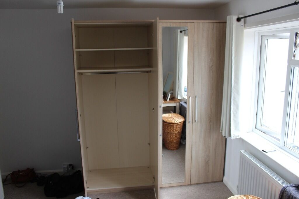 Furniture Village Hove 4-door mirrored wardrobe - from furniture village | in hove, east