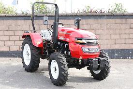 25 Hp 2 or 4 Wheel Drive, Diesel. Brand New. 18 Months warranty