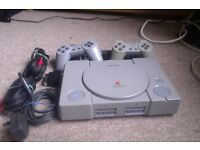 PlayStation One including Controllers FOR SALE