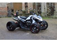 NEW 2017 250CC WHITE ROAD LEGAL QUAD BIKE ASSEMBLED IN UK 17 PLATE OUT NOW!!