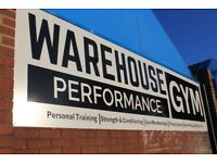 Gym Membership at Warehouse Performance Gym in Felling, Gateshead