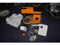 Kenwood Chef in Retro Orange and Brown with Accessories