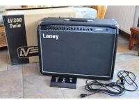 Laney LV300T Twin 120 Watt Tube Fusion Combo Amp