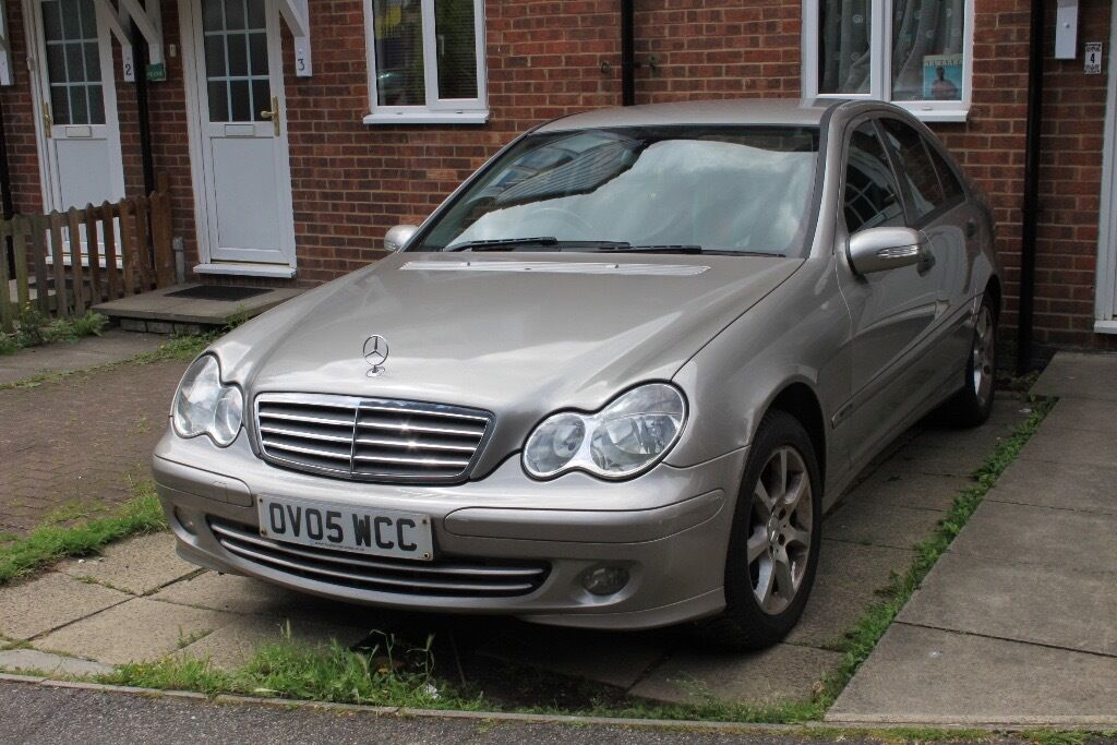 mercedes c class 200 cdi 2005 39 05 reg 39 in leytonstone london gumtree. Black Bedroom Furniture Sets. Home Design Ideas