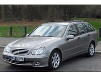 2005(55)MERCEDES, C CLASS 1.8 C180 ESTATE ,MANUAL, FULL SERVICE HISTORY, EXCELLENT CONDITION