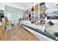 EAST FINCHLEY LONDON N2 HIGH ROAD LOCK UP SHOP TO RENT. CARPET SHOP LONG TERM LEASE NO PREMIUM