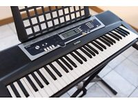 Yamaha YPT-210 Digital Keyboard (stand included)