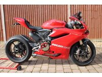 Ducati 1299 ABS Red with Akrapovics