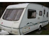 Swift Challenger 490 LSE 2002 5 Berth Caravan + Full Awning