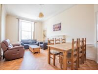 HMO: Very spacious, 5-bedroom, HMO flat in the heart of Leith – with flexible entry