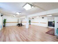 Studio Space for Rent - Yoga, Dance, Massage, Pilates