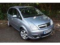 09/59 Vauxhall Meriva 1.3CDTI Diesel - Only 80kmiles - 1 Owner - Small but spacious family MPV