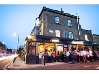 Full time bar staff required for great Dalston pub