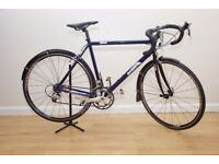 ROAD / RACER BIKE ORBIT HELIUM CUSTOM HAND BUILT IN UK CARBON FORKS QUALITY PARTS NEW PRICE £995
