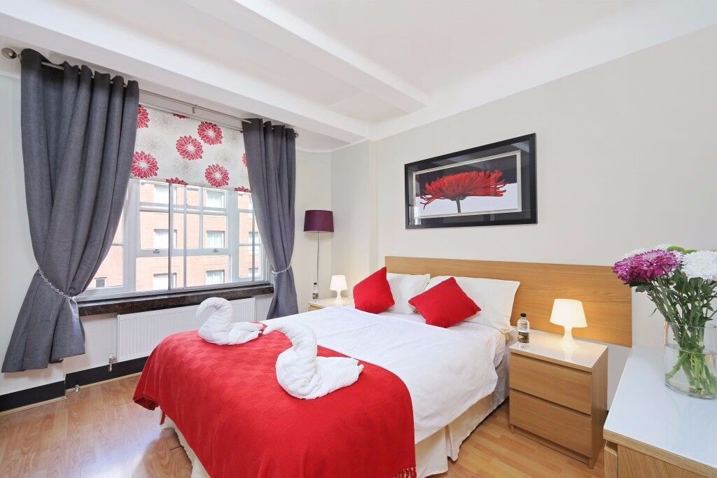 ****Price Reduction*DOUBLE BEDROOM FOR LONG LETS PERFECT FOR SHARERS IN MARBLE ARCH 10 SEC TO TUBE