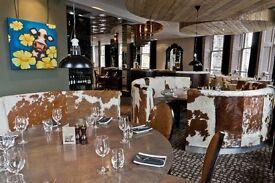 Waiting staff required for award winning Kyloe restaurant