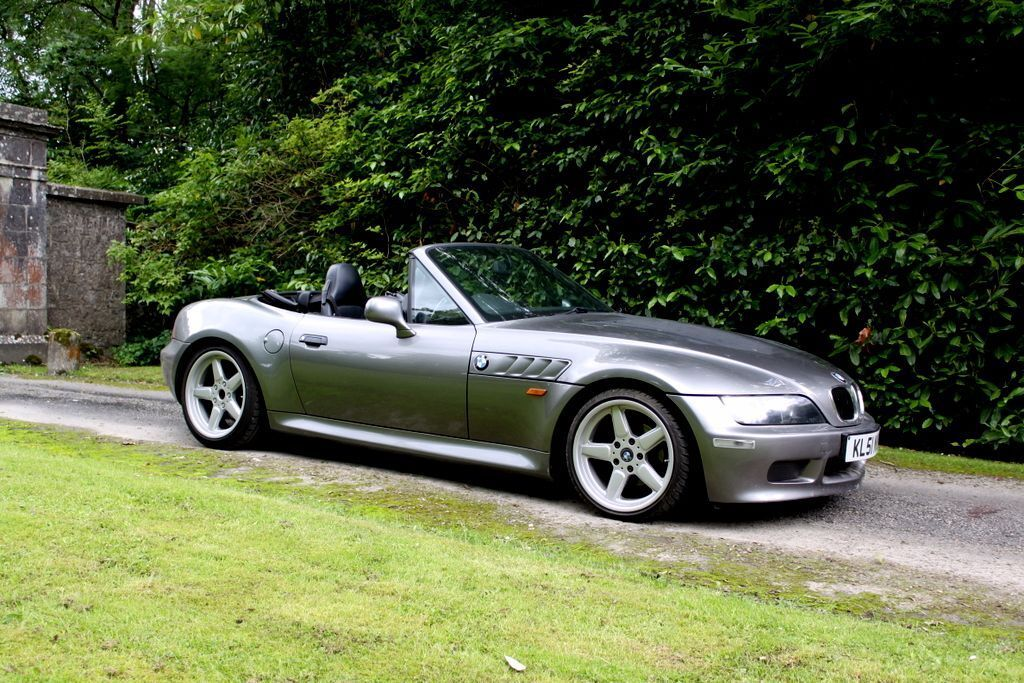 2001 Bmw Z3 Sterling Grey 1 9 Lowered Stainless Exhaust Black Leather In Dungannon County