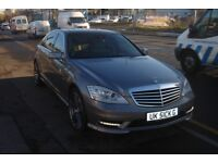 Mercedes Benz S CLASS tv screen fully loaded