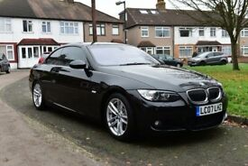 Black BMW 335i M Sport, Convertible, Twin Turbo, Low Mileage!