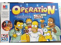 OPERATION - The Simpsons Edition Board Game