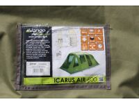 6 berth air beam tent ex dispay never used 2 small tears dont affect tent