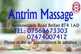 Relaxing Massage Professional at 207 Newtownards Road Belfast BT4 1AD