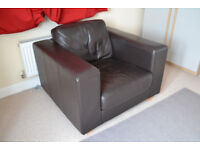 Leather Armchair from John Lewis
