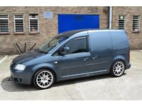 2009 Modified VW Caddy Van 1.9 TDI (alloys,lowered etc) 1 previous owner